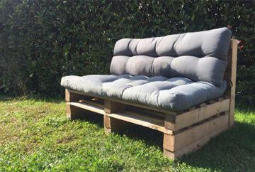 Come costruire un divano in pallet