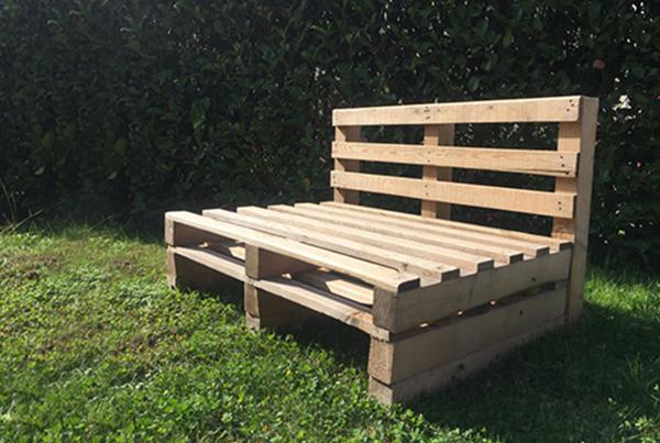 Come costruire un divano in pallet ferramenta shop for Divano in pallet