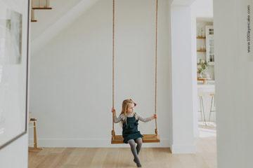 Altalena da interno: come appendere l'altalena in casa