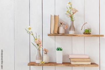 Mensole in legno fai da te: idee facili da realizzare