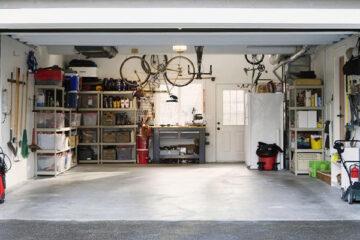 Come organizzare il garage