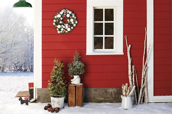 La ghirlanda natalizia: un addobbo che non può mancare