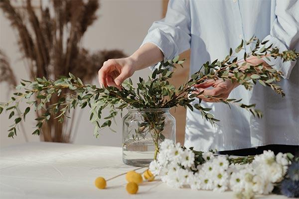 Tante idee per decorare con l'eucalipto