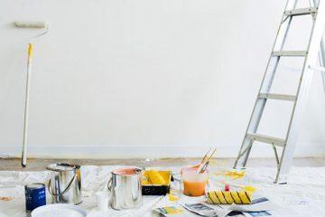 Come imbiancare casa senza sporcare